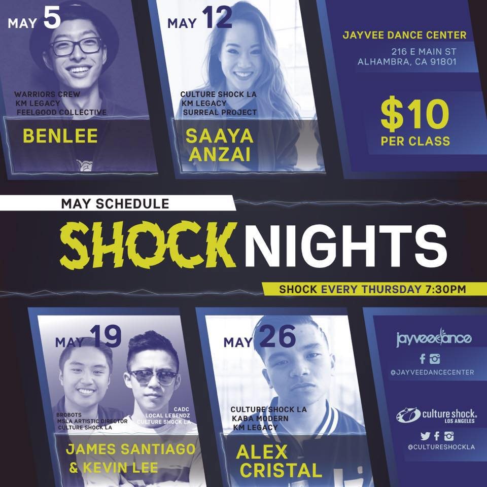 SHOCKNIGHTS - MAY