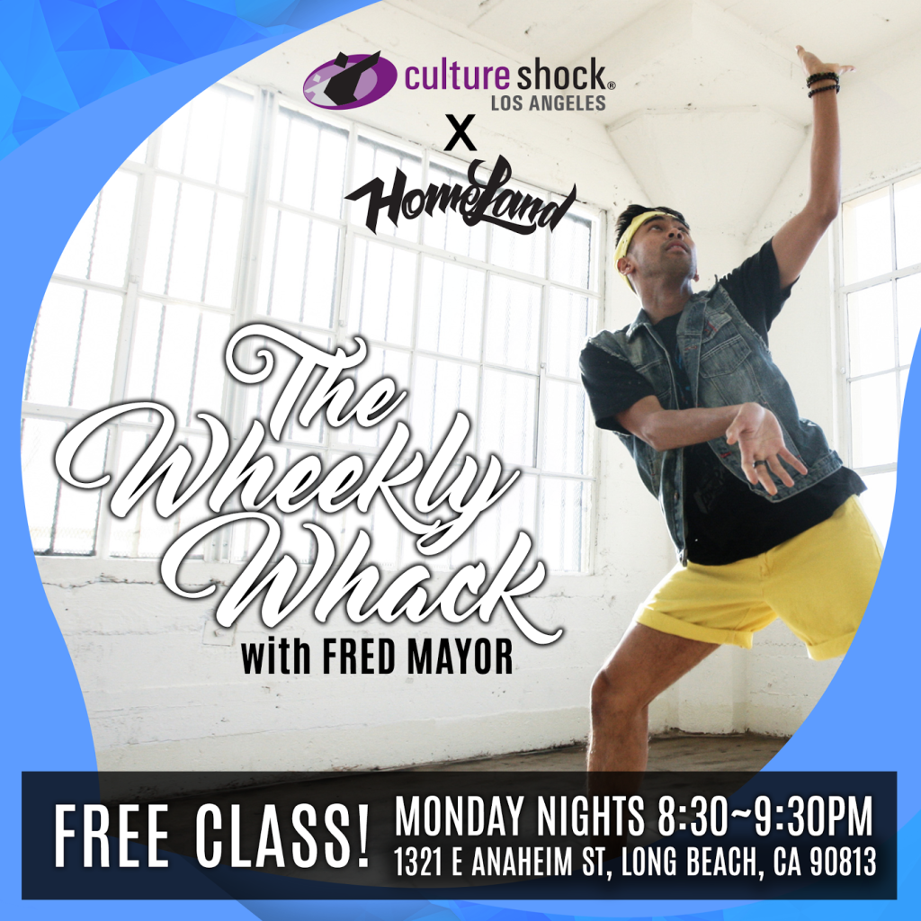 Culture Shock LA x Homeland; The Weekly Whack with Fred Mayor