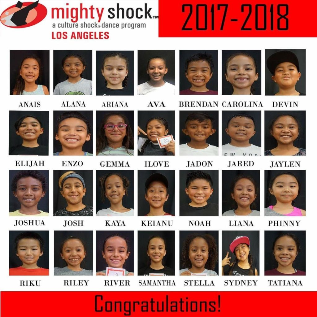 Mighty Shock LA 2017-2018