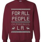 Culture Shock LA Holiday Sweater